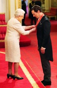 Benedict Cumberbatch, Queen Elizabeth, Buckingham Palace