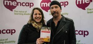 Edge, U2, Mencap