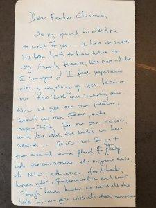 Benedict Cumberbatch, Letters For Noel