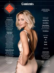 Jennifer Lawrence, Entertainment Weekly