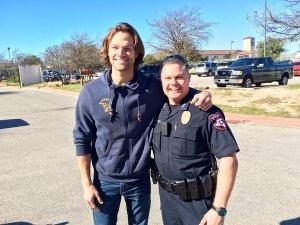 Jared Padalecki, Austin police