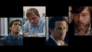 Ryan Gosling, Jared Venett, Brad Pitt, Steve Carrell, Mark Baum, Christian Bale, The Big Short