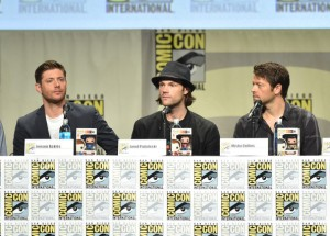 Jensen Ackles, Jared Padalecki, Misha Collins, Comic con