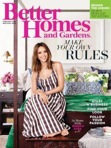 Jessica Alba, Better Homes and Gardens