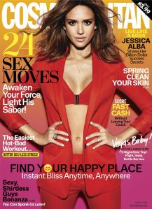 Jessica Alba, Cosmopolitan