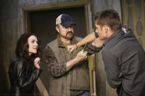 Jensen Ackles, Dean Winchester, Jim Beaver, Bobby Singer, Meg, Supernatural