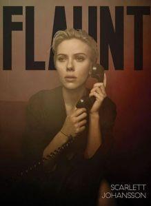 Scarlett Johansson, Flaunt