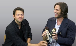 Jared Padalecki, Misha Collins