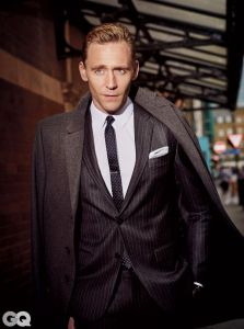 Tom Hiddleston, GQ