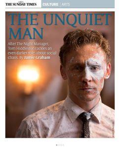 Tom Hiddleston, Culture
