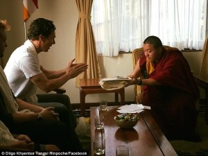 Benedict Cumberbatch, Buddhist Monks