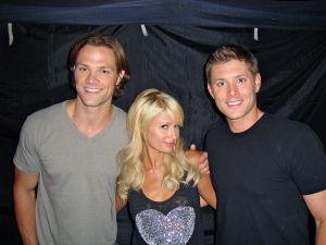 Jensen Ackles, Jared Padalecki, Paris Hilton