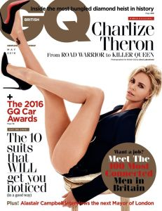 Charlize Theron, British GQ