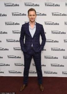Tom Hiddleston, NY Times