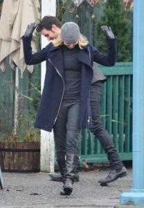 Jennifer Morrison, Emma Swan, Colin O'Donoghue, Killian Jones, Captain Hook, Once Upon a Time