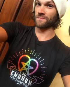 Jared Padalecki, I Am Enough, Always Keep Fighting