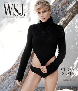Charlize Theron, WSJ.