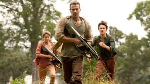 Shailene Woodley, Tris Prior, Theo James, Four,  Ansel Elgort, Caleb Prior, Insurgent