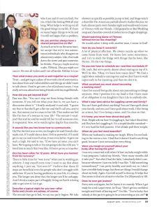 Kristen Bell, Redbook