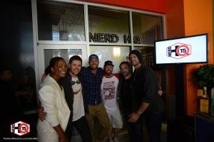 Zachary Levi, Aisha Tyler, Jensen Ackles, Jared Padalecki, Mark Sheppard, Nerd HQ