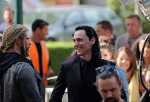 Tom Hiddleston, Loki, Thor Ragnorak, Chris Hemsworth, Thor