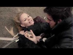 Jennifer Morrison, Emma Swan, Colin O'Donoghue, Captain Hook, Killian Jones, Once Upon a Time