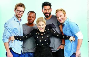 Rose McIver, David Anders, Rahul Kohli, Malcolm Goodwin, Robert Buckley