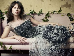 Felicity Jones, Harpers Bazaar UK