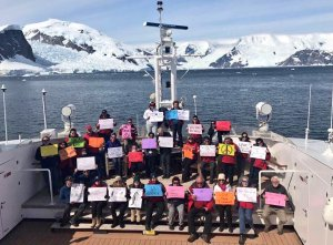 Women's March, Antarctica