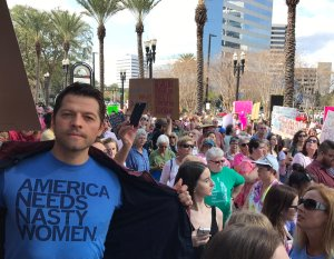 Misha Collins, Womens March