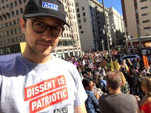 Joseph Gordon Levitt, Womens March