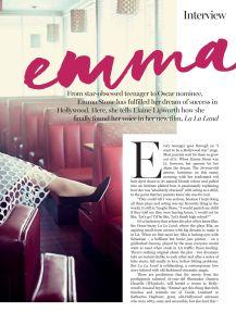 Emma Stone, Marie Claire Australia