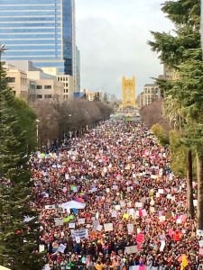 Sacramento, Womens March