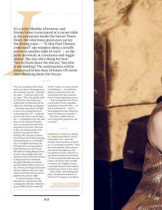 Emma Stone, Hollywood Reporter