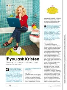 Kristen Bell, Parents