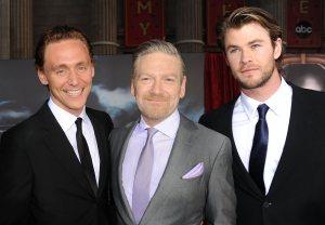 Tom Hiddleston, Chris Hemsworth, Kenneth Brannaugh, Thor