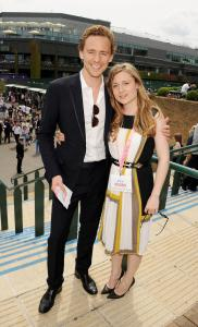 Tom Hiddleston, Emma Hiddleston, Wimbledon