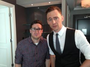 Tom Hiddleston, Josh Horowitz