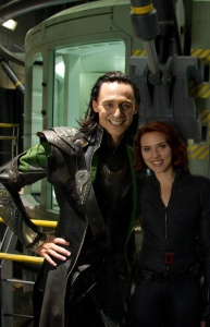 Tom Hiddleston, Scarlett Johansson