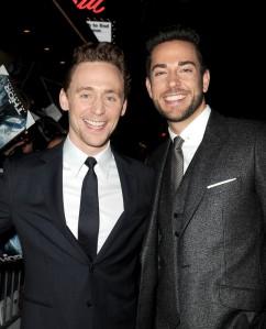 Tom Hiddleston, Zachary Levi, Thor the Dark World