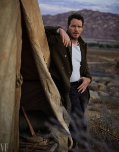 Chris Pratt, Vanity Fair