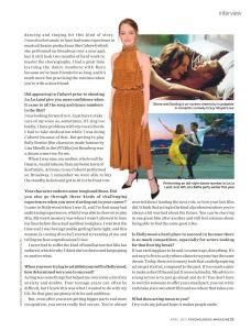 Emma Stone, Psychologies
