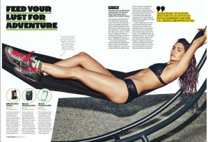 Nina Dobrev, Men's Health