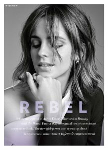 Emma Watson, Marie Claire Australia