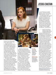Jessica Chastain, Total Film