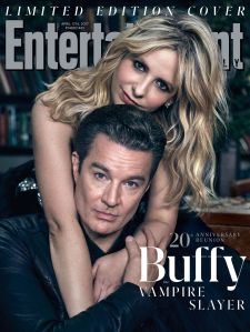 Sarah Michelle Gellar, Buffy Summers, James Marsters, Spike, Buffy the Vampire Slayer, Entertainment Weekly