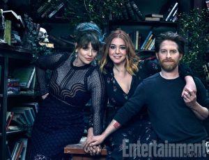 Amber Benson, Tara Maclay, Alyson Hannigan, Willow Rosenberg, Seth Green, Oz, Buffy the Vampire Slayer, Entertainment Weekly