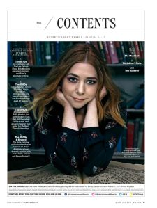 Alyson Hannigan, Willow Rosenberg, Buffy the Vampire Slayer, Entertainment Weekly