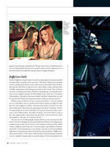 Alyson Hannigan, Willow Rosenberg, Amber Benson, Tara Maclay, Buffy the Vampire Slayer, Entertainment Weekly