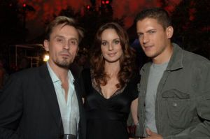 Wentworth Miller, Sarah Wayne Collies, Robert Knepper